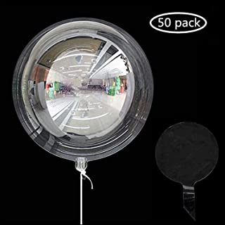 Bobo Balloons 50 Packs,20 Inch Helium Style Transparent Bubble Bobo Balloons for LED Light Up Balloons, Gifts for Christmas,Wedding,Birthday Party Decorations(LED String Not Included)
