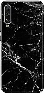 Cekuonline Xiaomi Mi A3 Kılıf Desenli Esnek Silikon Telefon Kabı Kapak - Mermer Siyah