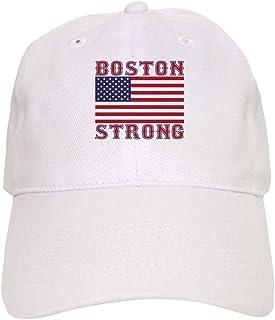 64b48afc496f7 CafePress - BOSTON STRONG U.S. Flag Baseball - Baseball Cap with Adjustable  Closure
