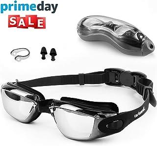 Zerhunt Swim Goggles, Swimming Goggles, UV 400 Protection...