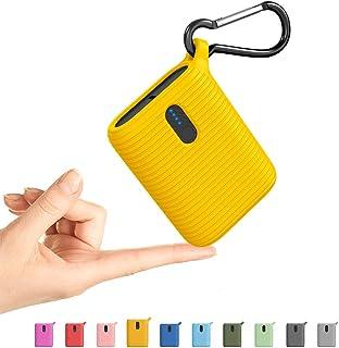 OUTXE Mini Power Bank 10 000 mAh, bärbar laddare med två utgångskontakter, lättaste ultrakompakt extern USB-C-batteri för ...