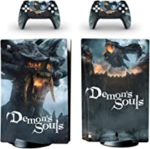 Demon Soul Oumaga Ps5 Sticker (Demon Soul) For Playstation 5 System Console And Controller Skin Sticker
