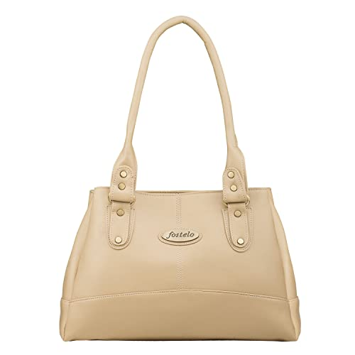 Fostelo Elite Women's Handbag (Beige)