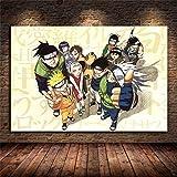 AJleil Puzzle 1000 Piezas Pintura de Arte decoración de Naruto en Juguetes y Juegos Educativo Divertido Juego Familiar para niños adultos50x75cm(20x30inch)