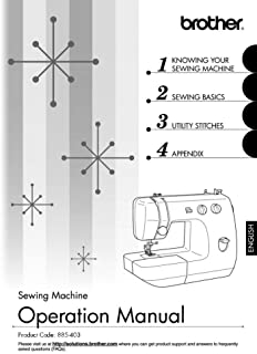 Brother LS2350 Sewing Machine Owners Instruction Manual [Plastic Comb] There and Back