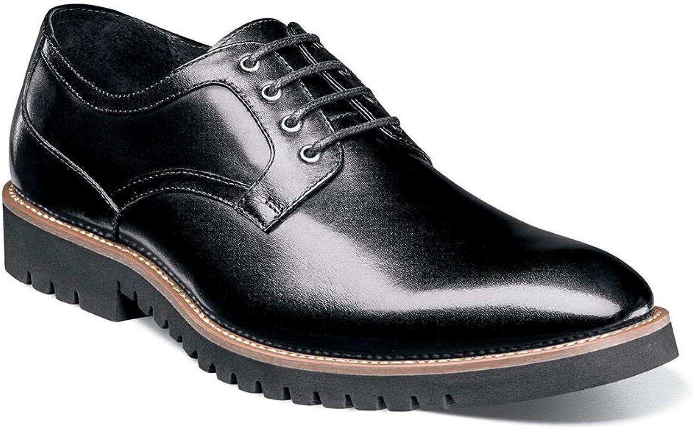 STACY ADAMS Men's Barclay Plain Toe Toe Toe Lace Up Oxford Black 11.5 D US B07D8BRD8G  6df96d