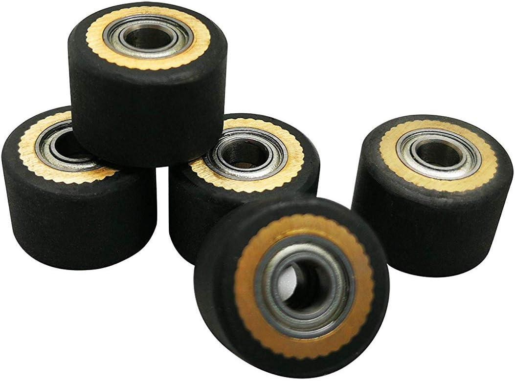 5pcs latest HQ Pinch Roller for Roland Iolio Selling GCC Pcut Rabit LiYu Mimaki