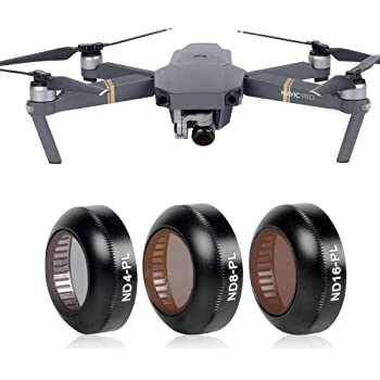 MEETBM ZIMO,3 in 1 HD Slim CPL /& CPL /& ND8 /& ND16 Lens Filter for DJI New Pocket