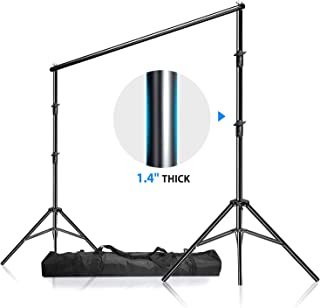 LimoStudio, 12ft (W) x 10ft (H) Backdrop Muslin Support Structure System Strong and Stable 1.4