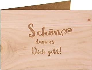 Träpapper – vacker att det finns – 100 % handgjord i Österrike – vykort, presentkort, gratulationskort, folder, kort, inbj...