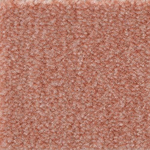 Teppichboden Auslegware   Velours gemustert   400 und 500 cm Breite   rosa   Meterware, verschiedene Größen   Größe: 2 x 4m