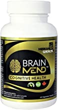 BRAINMEND Nootropic - Brain Supplement for Focus Memory Mental Clarity Mood Concentration Brain Booster, Bacopa Ashwagandha Lions Mane Mushroom - Natural Herbs & Vitamin for Dementia Alzheimers