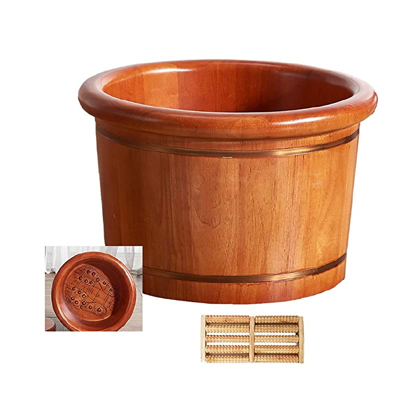 移民肌寒い船乗り木製サウナバケツ,防水 防漏足浴桶,使用簡単 おしゃれ サウナバケッ,ト滑らかい 繊細 手作り