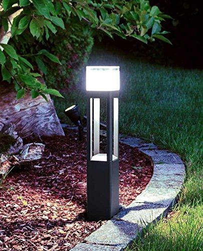 LED Wegeleuchte Milan 50cm dunkelgrau 11,8W 6500K Kiom 10758