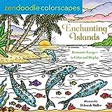 Zendoodle Colorscapes: Enchanting Islands: Romantic Escapes to Color and Display