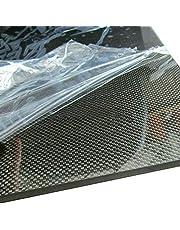 SOFIALXC Tablero de Fibra de Carbono Carbono de 100% de Placa Laminado Superficie Lisa for Drone, etc.