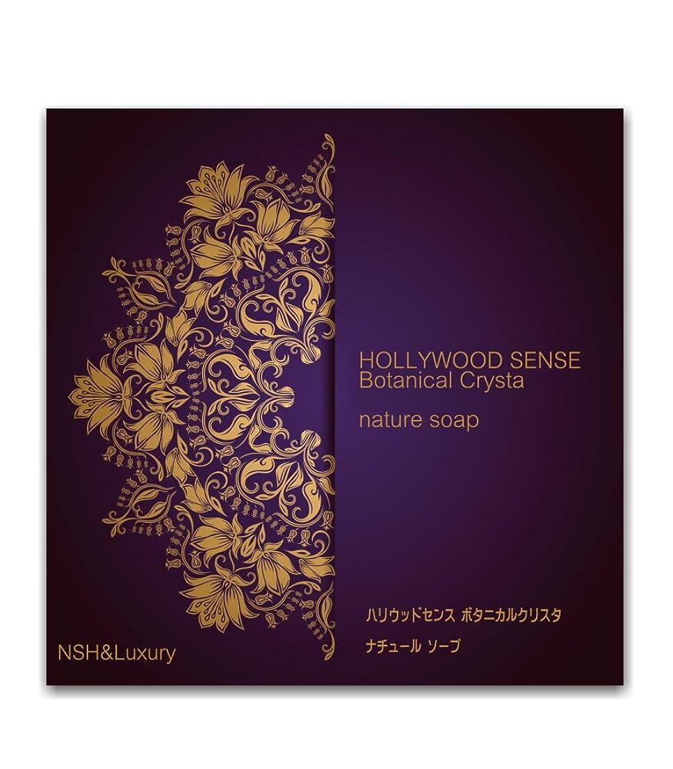 あそこ熱望する四半期「ナッシュ&ラグジュアリー」 ハリウッドセンス ボタニカルクリスタ アイムソープ (わくねり化粧石けん 80g)