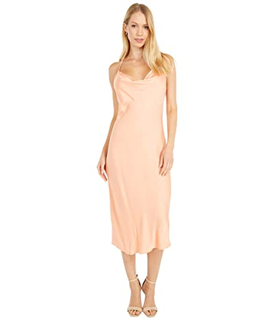 Young Fabulous & Broke Sweetie Slip Dress (Clementine) Women
