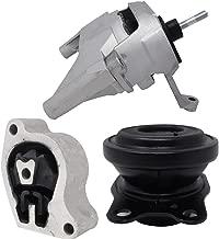Front Right Rear Motor Mount and Transmission Mount Set 3pcs for 2007-2012 Nissan Altima 2.5L Automatic CVT Transmission