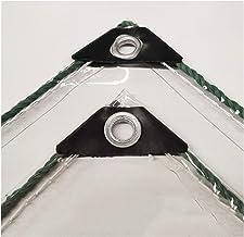 LIANGJUN Transparant Geteerd zeildoek, Anti-Veroudert Isolatiepvc Dekking Tarp, Grondblad Covers voor Kas, 0.3mm, 400g/㎡