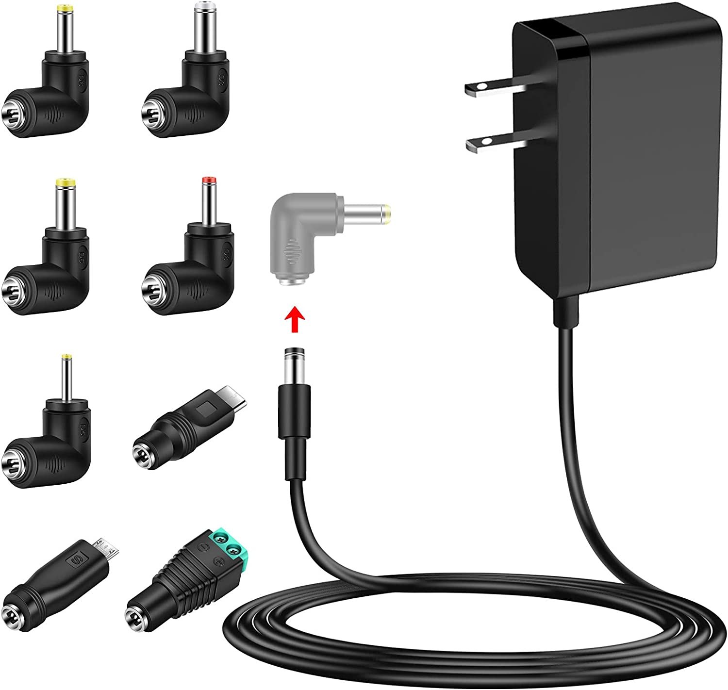 MEROM Willow Pump Breast Pump Charger 5V 3A Power Cord Adapter Compatible with Willow Pump Generations 1, 2, and 3 Replacement