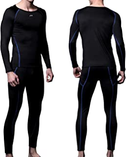 Mens MAXHEAT Fleece Lined Performance Long Johns Thermal Underwear