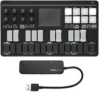 Korg NANOKEY-ST Midi Controller with Knox Gear 4-Port USB 3.0 Hub