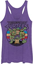 Teenage Mutant Ninja Turtles Women's Group Wave Racerback Tank Top
