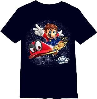 Nintendo Boys' Super Mario Odyssey Cappy T-Shirt