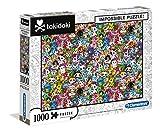 Clementoni Impossible-Puzzle de 1000 Piezas – Tokidoki Color (39555)