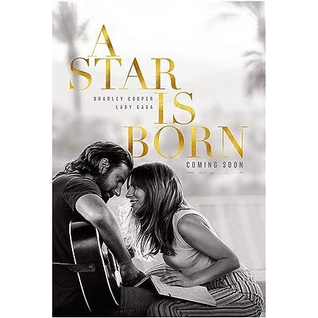 A STAR IS BORN 2018 LADY GAGA OFFICIAL ORIGINAL MOVIE PRINT PREMIUM POSTER