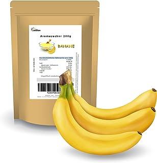 JuliDon® Goût « Banane » pour machines à barbe à papa, barbe à papa, popcorn, cocktails, bonbons   sucre coloré aromatisé ...