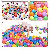 Gaorui 200 Pcs Balls Pit Balls Colorful BPA Ocean Ball Free Crush Proof