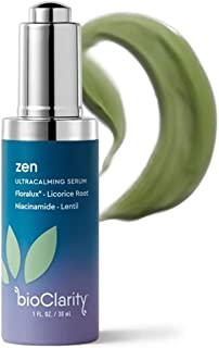 bioClarity Zen Redness Serum | Ultracalming Serum for Redness-Prone Skin | 100% Vegan, Clean Ingredients | Contains Floral...