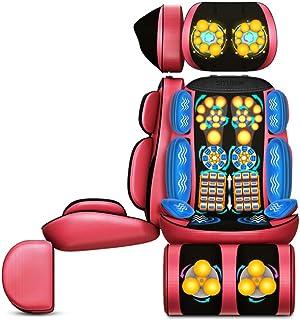 XGYUII Shiatsu Masajeador de Espalda con Calor Amasamiento Profundo Asiento rodante Cojín del masajeador de Espalda, Alivio del Dolor, Fatiga de la Espalda Lumbar Cadera y Muslos Cuello Ajustable