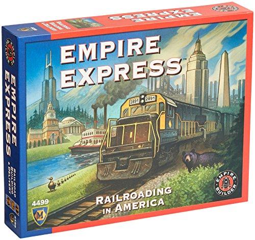 Mayfair Games MFG04499 - Brettspiele, Empire Express