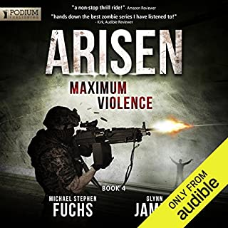 Maximum Violence     Arisen, Book 4              Written by:                                                                                                                                 Michael Stephen Fuchs,                                                                                        Glynn James                               Narrated by:                                                                                                                                 R.C. Bray                      Length: 8 hrs and 7 mins     18 ratings     Overall 4.5