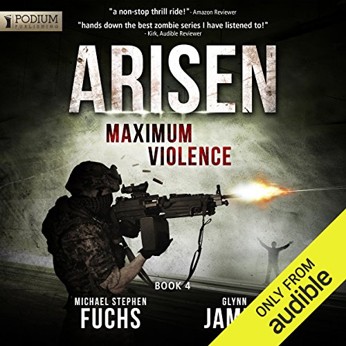 Maximum Violence audiobook cover art