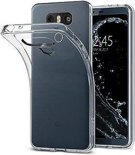 spigen Funda LG G6, [Liquid Crystal] Silicona Transparente [Crystal Clear] Premium Transparente Adecuado, Carcasa Funda para LG G6 - (A21CS21229)