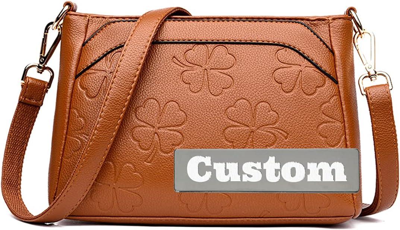 Custom Name Chain San Antonio Mall Fashion Leather Handbags Bag Purse on Shoulder National products