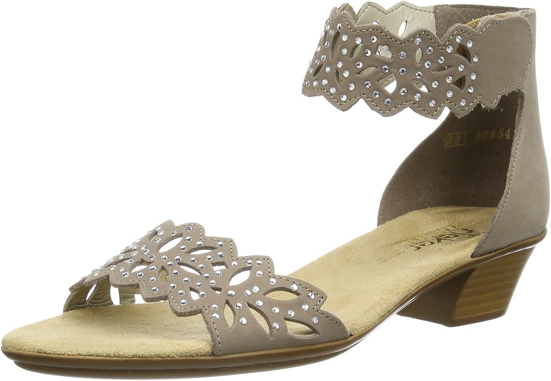 Rieker Women's Leather Ankle Sandal (68396-64)