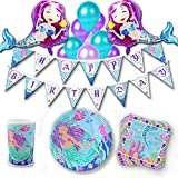 khaotic Complete Mermaid Party Supplies Set & Decorations