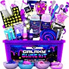 Original Stationery Galaxy Slime Making Kit with Glow in The Dark Stars to Make Glitter Galactic Slime! Slime Kits for Girls and Boys