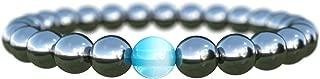 Unisex Bracelet Semi-Precious Natural Stones - Men Bracelets Black Bracelets Beads Stone Bracelet