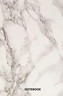 Marble | Notebook , Journal | Perfect for Birthday gifts and Fan club members: Perfectly Lined journal ,110 pages , 6x9 in...