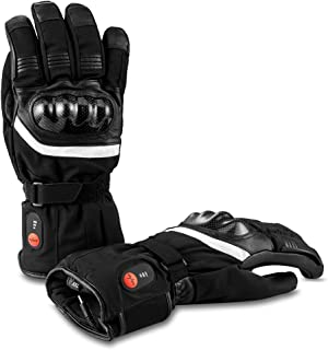 Electric Battery Heated Gloves for Women Men, Thermal Heat Gloves,Battery Powered Electric Heated Ski Bike Motorcycle,Works Up to 2.5-5 Hours