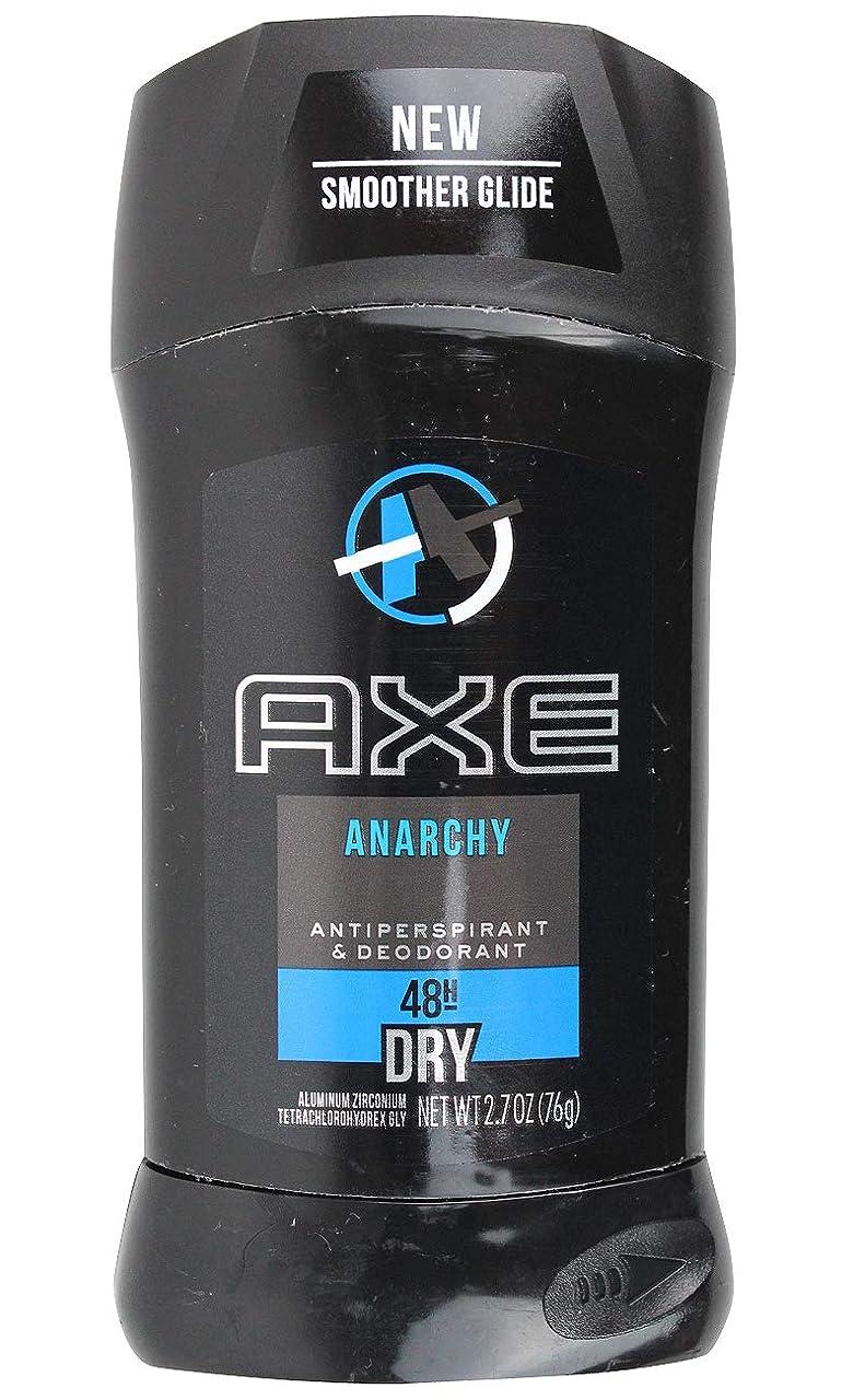研磨剤徐々に所得アックス AXE メンズ デオドラント アナーキー 男性用 固形 制汗剤 48H ドライ 76g