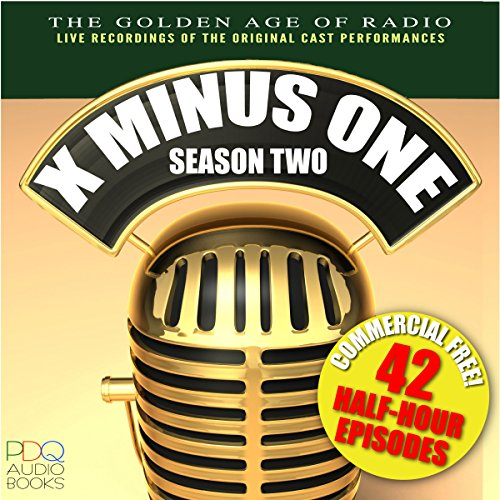 X Minus One, Season Two audiobook cover art