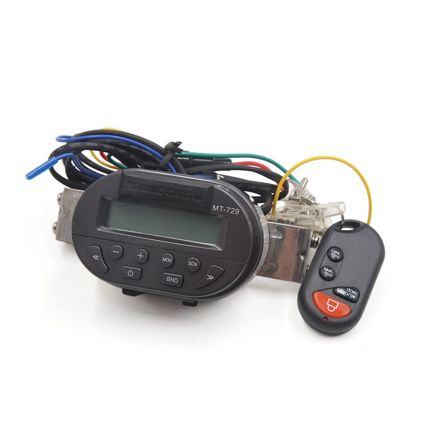 uxcell a17060500ux0673 Motorcycle MP3 Amplifier Speaker