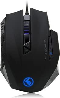 IOGEAR Kaliber Gaming RETIKAL Pro FPS Gaming Mouse, Black, GME660